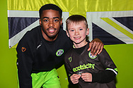 Ambassador during the EFL Sky Bet League 2 match between Forest Green Rovers and Lincoln City at the New Lawn, Forest Green, United Kingdom on 2 March 2019.