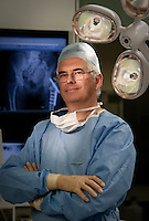 Prof James Richardson (orthopaedic surgeon) at RJAH Orthopaedic Hospital, Gobowen