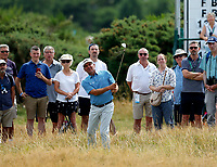 Golf - 2019 Senior Open Championship at Royal Lytham & St Annes - First Round <br /> <br /> Fred Couples (USA) plays out of the rough onto the 15th green.<br /> <br /> COLORSPORT/ALAN MARTIN