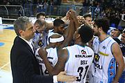 DESCRIZIONE : Cremona Lega A 2014-2015 Vanoli Cremona Openjobmetis Varese<br /> GIOCATORE : Team Vanoli<br /> SQUADRA : Vanoli Cremona<br /> EVENTO : Campionato Lega A 2014-2015<br /> GARA : Vanoli Cremona Openjobmetis Varese<br /> DATA : 30/11/2014<br /> CATEGORIA : Team Esultanza<br /> SPORT : Pallacanestro<br /> AUTORE : Agenzia Ciamillo-Castoria/F.Zovadelli<br /> GALLERIA : Lega Basket A 2014-2015<br /> FOTONOTIZIA : Cremona Campionato Italiano Lega A 2014-15 Vanoli Cremona Openjobmetis Varese<br /> PREDEFINITA : <br /> F Zovadelli/Ciamillo