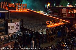 The Iron Horse Saloon during Biketoberfest, Ormond Beach, FL, October 18, 2014, photographed by Michael Lichter. ©2014 Michael Lichter