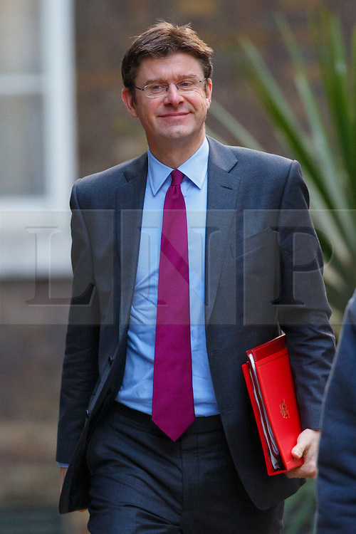 © Licensed to London News Pictures. 16/03/2016. London, UK. Communities and Local Government Secretary, Greg Clark attending to a cabinet meeting in Downing Street on the Budget Day, Wednesday, 16 March 2016. Photo credit: Tolga Akmen/LNP