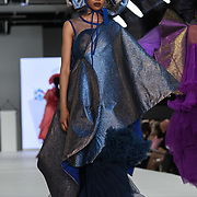 Designer Chantelle Guan at the Best of Graduate Fashion Week showcases at the Graduate Fashion Week 2018, June 6 2018 at Truman Brewery, London, UK.