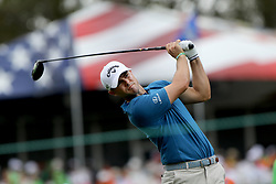 March 10, 2017 - Palm Harbor, Florida, U.S. - DOUGLAS R. CLIFFORD   |   Times.Wesley Bryan tries drives the ball at #14 while playing in the second round of the Valspar Golf Championship at Innisbrook Resort and Golf Club's Copperhead Course on Friday (3/10/17) in Palm Harbor. (Credit Image: © Douglas R. Clifford/Tampa Bay Times via ZUMA Wire)