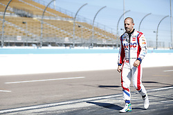 February 9, 2018 - Avondale, Arizona, United States of America - February 09, 2018 - Avondale, Arizona, USA: Tony Kanaan (14) walks down pit road during the Prix View at ISM Raceway in Avondale, Arizona. (Credit Image: © Justin R. Noe Asp Inc/ASP via ZUMA Wire)