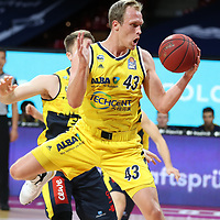 #43 Luke Sikma Alba von Alba Berlin   <br /> Basketball, nph0001 1.Bundesliga BBL-Finalturnier 2020.<br /> Halbfinale Spiel 2 am 24.06.2020.<br /> <br /> Alba Berlin vs EWE Baskets Oldenburg <br /> Audi Dome<br /> <br /> Foto: Christina Pahnke / sampics  / POOL / nordphoto<br /> <br /> National and international News-Agencies OUT - Editorial Use ONLY