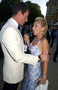 Tim Jefferies and Alexandra von Furstenburg, Louis Vuitton classic and celebration of their 150 anniversary. Waddesdon Manor, June 4 2004. ONE TIME USE ONLY - DO NOT ARCHIVE  © Copyright Photograph by Dafydd Jones 66 Stockwell Park Rd. London SW9 0DA Tel 020 7733 0108 www.dafjones.com