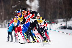 January 6, 2018 - Val Di Fiemme, ITALY - 180106 Dario Cologna of Switzerland competes in men's 15km mass start classic technique during Tour de Ski on January 6, 2018 in Val di Fiemme..Photo: Jon Olav Nesvold / BILDBYRN / kod JE / 160123 (Credit Image: © Jon Olav Nesvold/Bildbyran via ZUMA Wire)