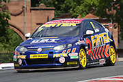 Andrew Jordan during the Dunlop MSA British Touring Car Championship at Oulton Park, Budworth, Cheshire, United Kingdom on 7th June 2015. Photo by Aaron Lupton.