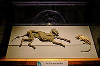 Irlande, Dublin, St Michaels Hill, interieur de la cathédrale Christ Church ou cathédrale de la Sainte-Trinité, cathédrale anglicane irlandaise, le Chat et le Rat // Republic of Ireland; Dublin, interior of Christ Church Cathedral, the Cat and the Rat