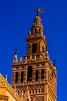 The Giralda Tower, Seville, Andalusia, Spain.
