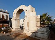 Roman Arch, Damascus, Syria