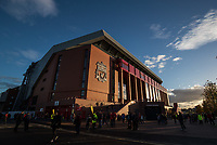 Football - 2016 / 2017 Premier League - Liverpool vs. Manchester United<br /> <br /> The new stand at Anfield.<br /> <br /> COLORSPORT