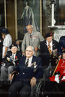 British First World War veterans known as the Old Contemptibles at the  Royal Hospital, Chelsea,London in July 1988. Photograph by Terry Fincher