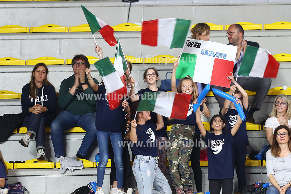 I TIFOSI DELL'ITALIA<br /> ITALIA - REPUBBLICA DOMINICANA<br /> PALLAVOLO VNL VOLLEY FEMMINILE 2019<br /> CONEGLIANO (TV) 28-05-2019<br /> FOTO FILIPPO RUBIN