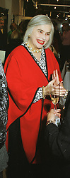 MRS ELENA BONHAM-CARTER mother of actress Helena Bonham-Carter, at an exhibition in London on 23rd February 1999.MOP 5