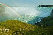 Rainbow over Niagara Falls<br />Niagara Falls<br />Ontario<br />Canada