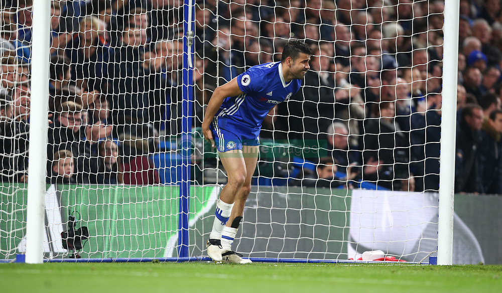 May 8, 2017 - Chelsea, Greater London, United Kingdom - Chelsea's Diego Costa.during Premier League match between Chelsea and Middlesbrough at Stamford Bridge, London, England on 08 May 2017. (Credit Image: © Kieran Galvin/NurPhoto via ZUMA Press)