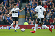 Fulham midfielder Tom Cairney (10) pointing, directing, signalling during The FA Cup 3rd round match between Fulham and Oldham Athletic at Craven Cottage, London, England on 6 January 2019.