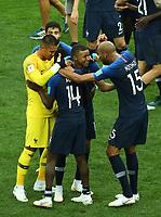 Kylian Mbappe (France) celebrates with Steven Nzonzi (France)<br /> Celebration Victory France <br /> Moscow 15-07-2018 Football FIFA World Cup Russia  2018 Final / Finale <br /> France - Croatia / Francia - Croazia <br /> Foto Matteo Ciambelli/Insidefoto