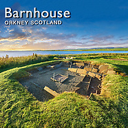Barnhouse Neolithic Village - Orkney - Pictures Images Photos