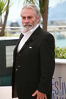Actor Haluk Bilginer at the photocall for the film Winter Sleep (Palme d'Or winner) at the 67th Cannes Film Festival, Friday 16th May 2014, Cannes, France