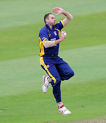 Durham's John Hastings - Photo mandatory by-line: Harry Trump/JMP - Mobile: 07966 386802 - 29/07/15 - SPORT - CRICKET - Somerset v Durham - Royal London One Day Cup - The County Ground, Taunton, England.