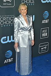 Glenn Close attends the 24th annual Critics' Choice Awards at Barker Hangar on January 13, 2019 in Santa Monica, CA, USA. Photo by Lionel Hahn/ABACAPRESS.COM