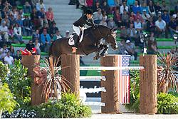 Jillian Terceira, (BER), Tamerino - First Round Team Competition Jumping Speed - Alltech FEI World Equestrian Games™ 2014 - Normandy, France.<br /> © Hippo Foto Team - Leanjo De Koster<br /> 03-09-14