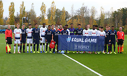 November 6, 2018 - London, England, United Kingdom - Enfield, UK. 06 November, 2018.PSV Eindhoven and Tottenham Hotspur line up before UEFA Youth League match between Tottenham Hotspur and PSV Eindhoven at Hotspur Way, Enfield. (Credit Image: © Action Foto Sport/NurPhoto via ZUMA Press)