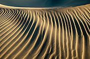 Mesquite Flat Sand Dunes, in Death Valley National Park near Stovepipe Wells