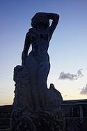 Statue in Gibara, Holguin, Cuba.