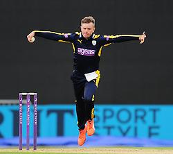Mason Crane of Hampshire in action.  - Mandatory by-line: Alex Davidson/JMP - 02/08/2016 - CRICKET - The Ageas Bowl - Southampton, United Kingdom - Hampshire v Somerset - Royal London One Day