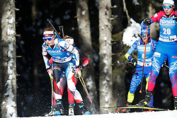 Marketa Davidova of Czech competes during the IBU World Championships Biathlon 15km Individual Women competition on February 16, 2021 in Pokljuka, Slovenia. Photo by Primoz Lovric / Sportida