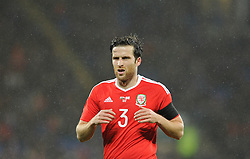 Adam Matthews of Wales - Mandatory by-line: Dougie Allward/JMP - Mobile: 07966 386802 - 24/03/2016 - FOOTBALL - Cardiff City Stadium - Cardiff, Wales - Wales v Northern Ireland - Vauxhall International Friendly