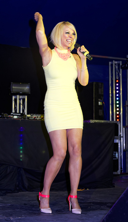 London, United Kingdom - 29 June 2013<br /> As part of the gay Pride 2013 celebrations Girl band Atomic Kitten performing at Summer Rites / Pride Party In The Park, Shoreditch Park, Hoxton, London, England, UK.<br /> Contact: Equinox News Pictures Ltd. +448700780000 - Copyright: ©2013 Equinox Licensing Ltd. - www.newspics.com<br /> Date Taken: 20130629 - Time Taken: 200456