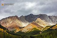 Mount Arethusa at Highwood Pass in Kananaskis Country, Alberta, Canada
