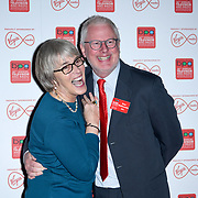 Kate Bulkley, Ross Biddicombe arrivers at the Broadcasting Press Guild TV & Radio Awards, at Banking Hall, on 13th March 2020, London, UK