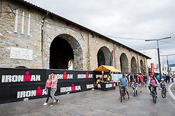 Preparation for Ironman 1 day before competition Ironman 70.3 Slovenian Istra 2018, on September 22, 2018 in Koper / Capodistria, Slovenia. Photo by Vid Ponikvar / Sportida