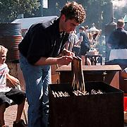 Huizerdag 1999, palingroken voor de beker