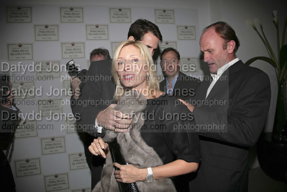 Princess Marie -Chantal of Greece and  David Flintwood. India Hicks And Crabtree & Evelyn launch new skincare range. : Hempel Hotel, 31-35 Craven Hill Gardens, London, W2, 22 November 2006. ONE TIME USE ONLY - DO NOT ARCHIVE  © Copyright Photograph by Dafydd Jones 66 Stockwell Park Rd. London SW9 0DA Tel 020 7733 0108 www.dafjones.com