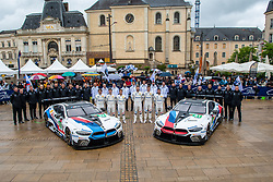 June 11, 2018 - Le Mans, FRANCE - 81 BMW TEAM MTEK (DEU) BMW M8 GTE GTE PRO MARTIN TOMCZYK (DEU) NICKY CATSBURG (NLD) PHILIPP ENG (AUT) #82 BMW TEAM MTEK (DEU) BMW M8 GTE GTE PRO AUGUSTO FARFUS (BRA) ANTONIO FELIX DA COSTA (PRT) ALEXANDER SIMS  (Credit Image: © Panoramic via ZUMA Press)