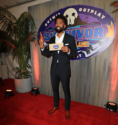 """Wendell Holland is crowned the winner of """"Survivor: Ghost Island"""" at the season 36 finale celebration held at CBS Television Studios in Los Angeles, CA."""