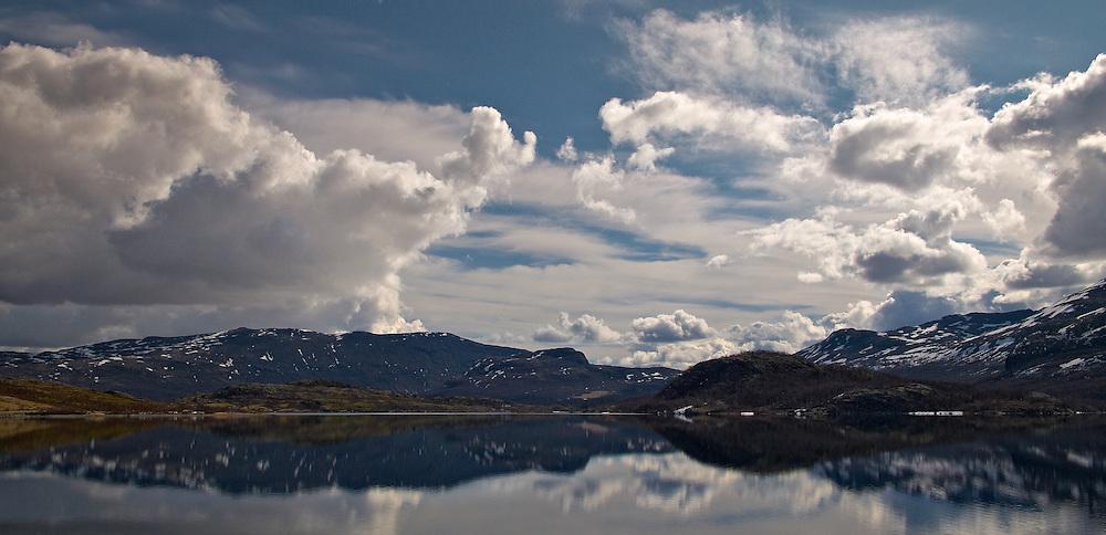 Norway - Ovre Sjodalsvatnet lake