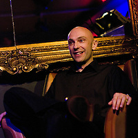 Shaun Attwood<br /> On stage at the Stoke Newington Literary Festival. 5 June 2010<br /> <br /> Picture by David X Green/Writer Pictures