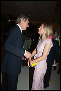 BRYAN FERRY; MARTHA WARD, Cartier dinner in celebration of the Chelsea Flower Show. The Palm Court at the Hurlingham Club, London. 19 May 2014.