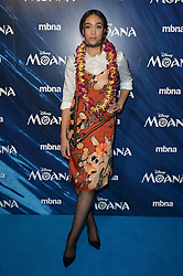 Jade Alleyne  bei der BAFTA Premiere von Moana in London / 201116 ***Celebrities arrive on the red carpet to attend the British Academy (BAFTA) screening on upcoming animated film 'Moana' in London on november 20th, 2016***