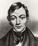 Robert Owen (1771-1858) Welsh-born British philanthropist and socialist. Bought New Lanark Mills Scotland, c1799 where the seeds of the co-operative movement were sown. He founded the town of New Harmony, Indiana,  USA on co-operative principles.