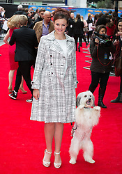World premiere of Postman Pat. Ashleigh & Pudsey arrive for the world premiere of Postman Pat at Leicester Square, London, United Kingdom. Sunday, 11th May 2014. Picture by Daniel Leal-Olivas / i-Images