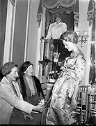 Special for Brown Thomas - Christian Dior Fashions .13/10/1958